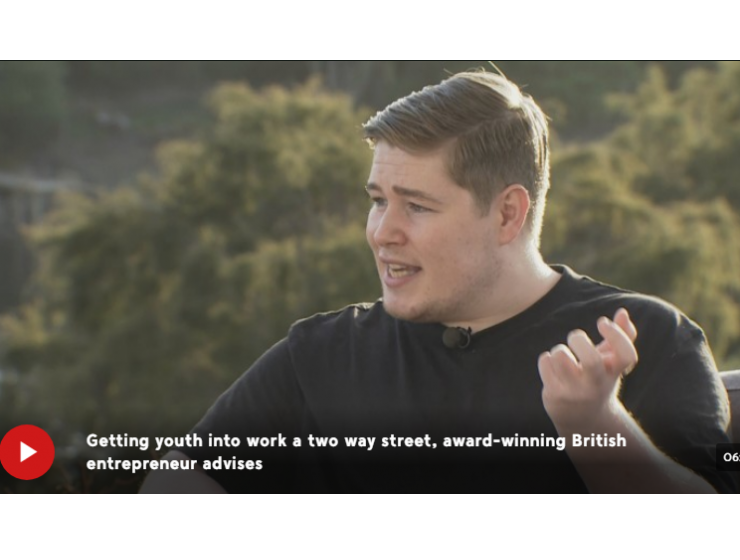 Top UK entrepreneur's advice to young New Zealanders looking for a job