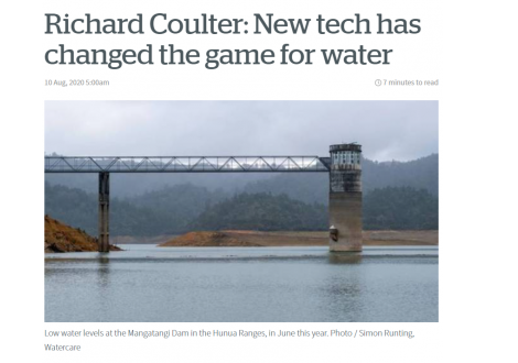 Alexander PR: Richard Coulter: New tech has changed the game for water