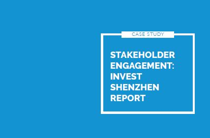 Stakeholder engagement with Invest Shenzen